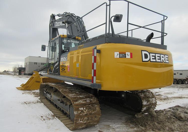 For Rent - Excavators - Mid and Large - 2014 John Deere 180G
