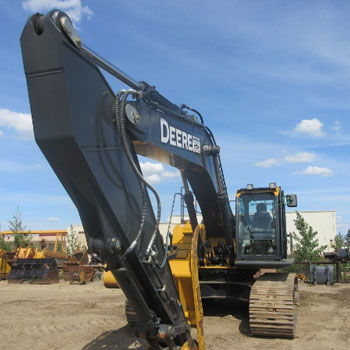 Excavators - Mid and Large